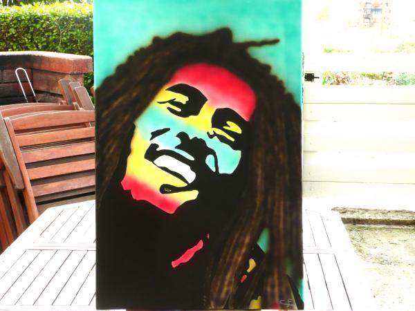 Bob Marley by caloma